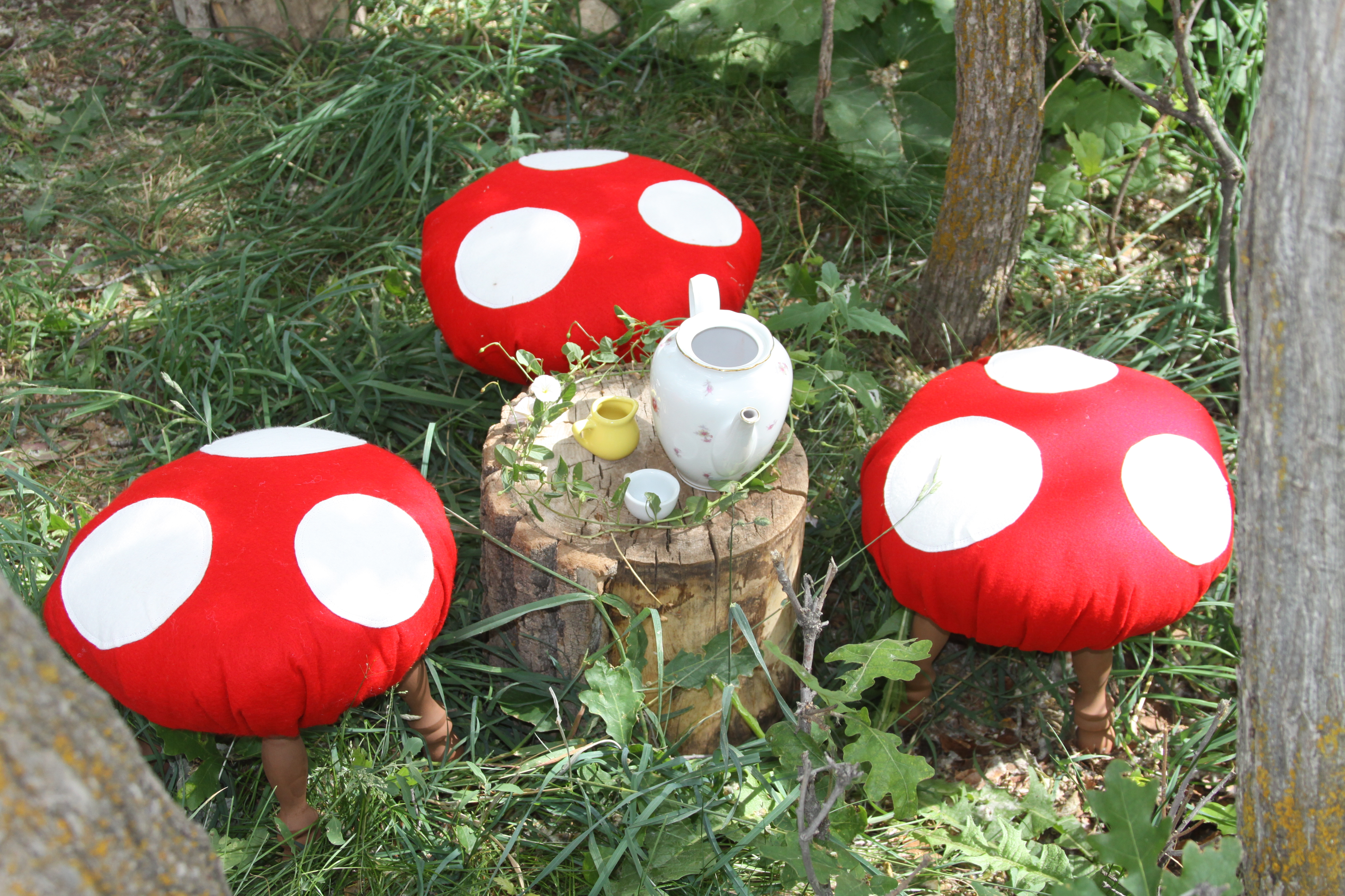Украшение грибы своими руками