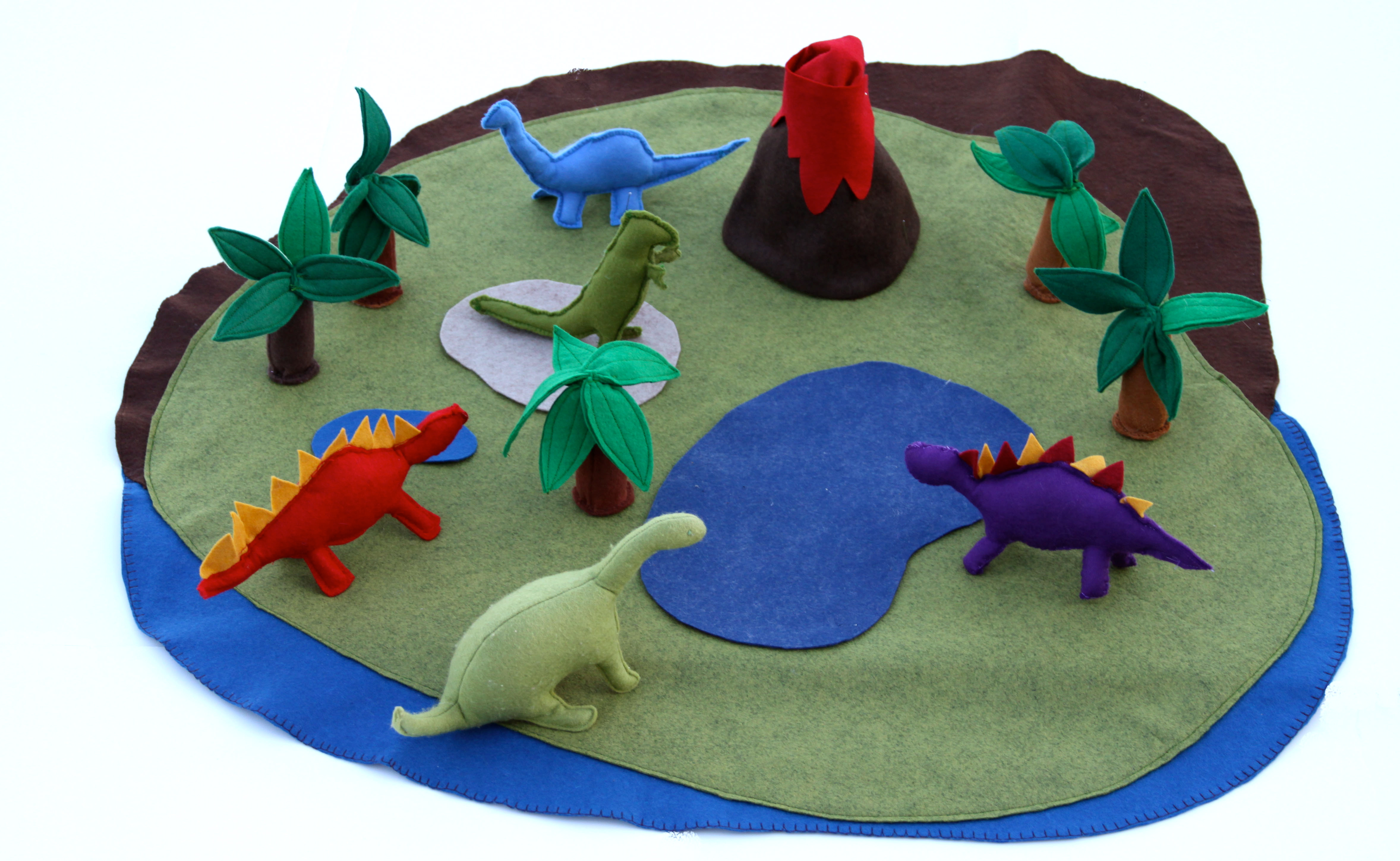 Dinosaur Play Mat Tutorial Tao Of Craft