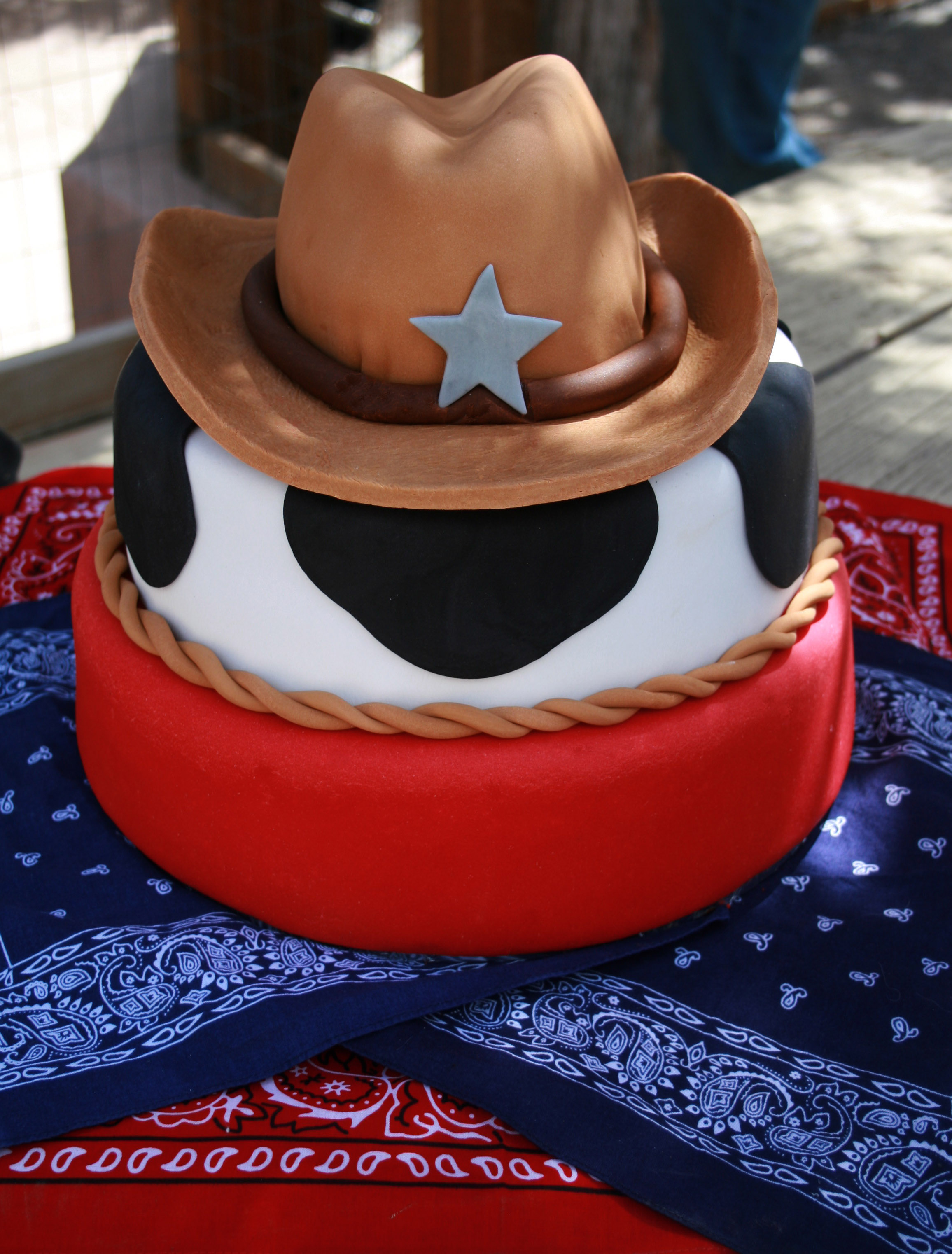 Western Cowboy Birthday Cake Tao Of Craft