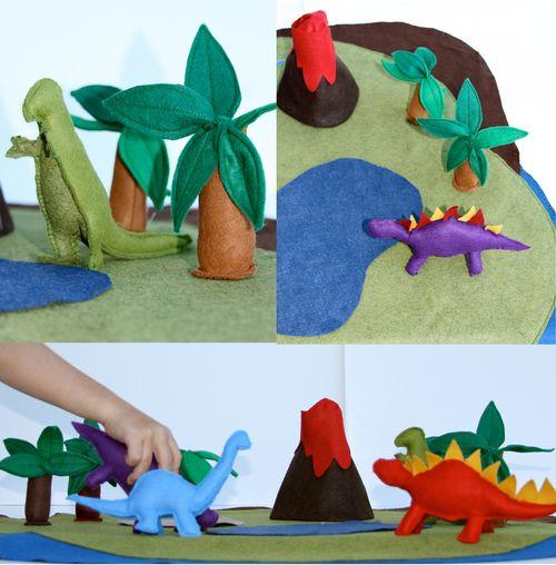 Dinosaur Play Mat Tutorial Tao Of Craft