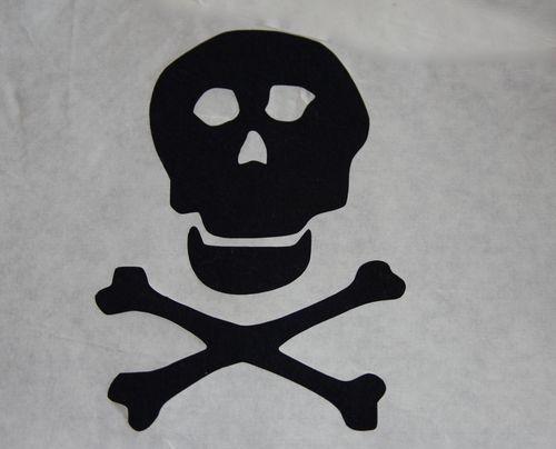 Pirate Skull And Cross Bones Stencil Tao Of Craft