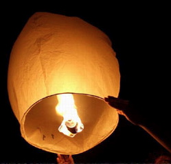 Sky-lantern-liftoff